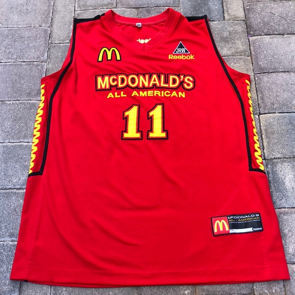 """McDonald's All American """"Chicago"""" Jersey"""